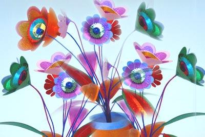 Цветя вместо ароматизатори