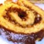 Пандишпаново руло с мармалад и ядки